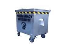 400 Lt. Galvaniz Çöp Konteynerı